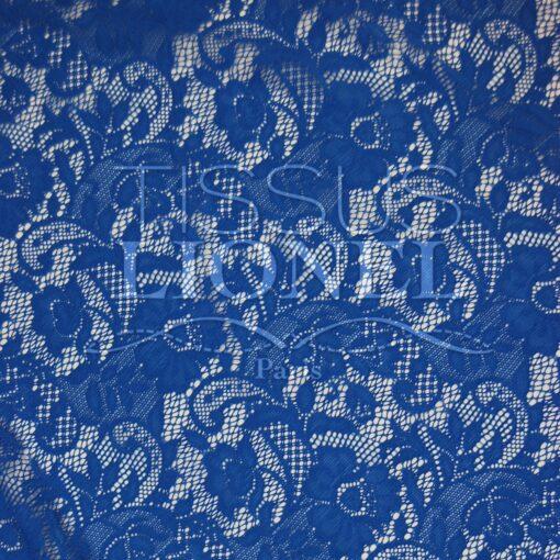 lycra dentelle serie2 bleu royal