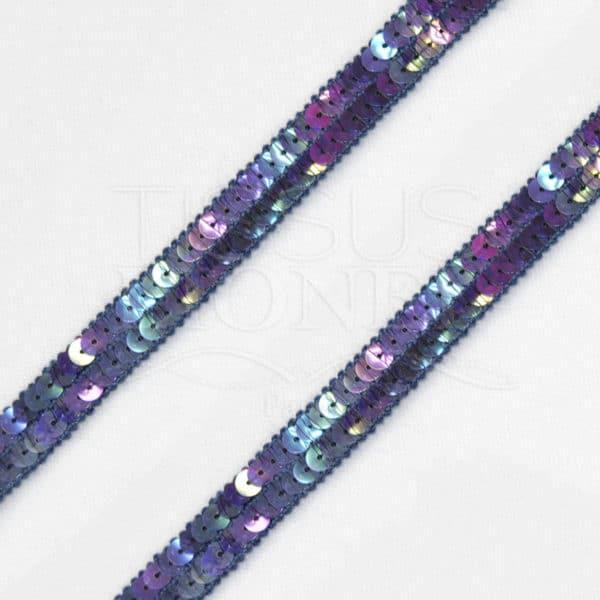 galon bleu violet hologramme