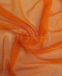 Down orange fishnet