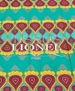 COTTON PRINTED AFRICAN WAX 070