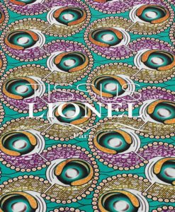 COTTON PRINTED AFRICAN WAX 072