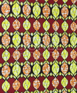 COTTON PRINTED AFRICAN WAX 085