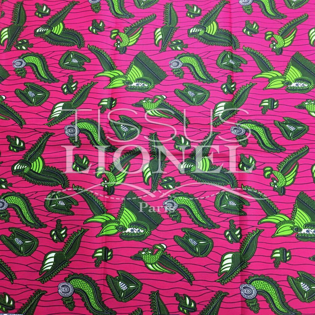 African wax print cotton
