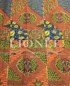 AFRICAN bedruckter Baumwolle 054