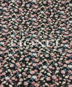 PRINTED COTTON FLOWERS 034
