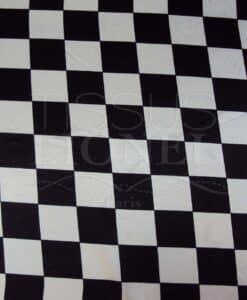 Carnaval carreaux noir et blanc
