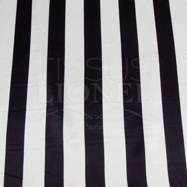 Carnaval rayures noir et blanches