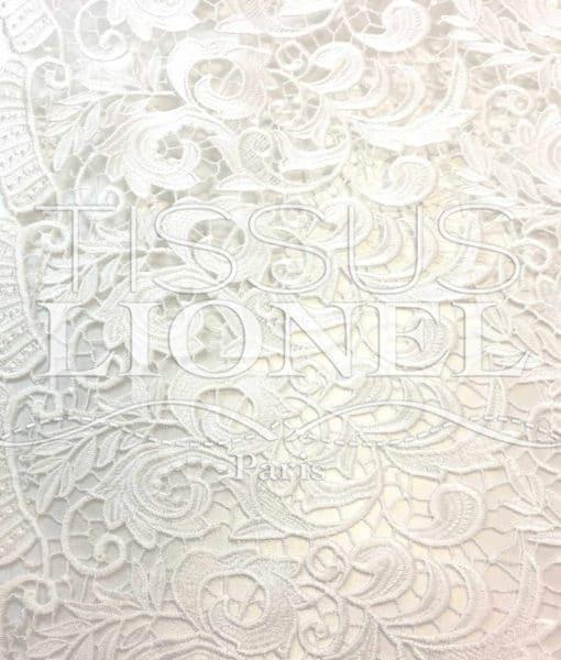Guipure Elysée Blanc