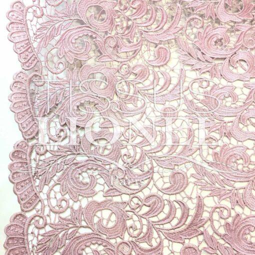 Guipure Elysée bois de rose