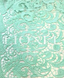 Guipure Elysée vert pale