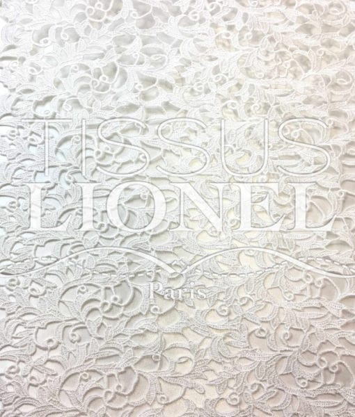 Guipure Versailles Blanc