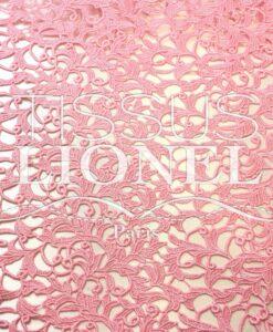 Guipure Versailles Rose