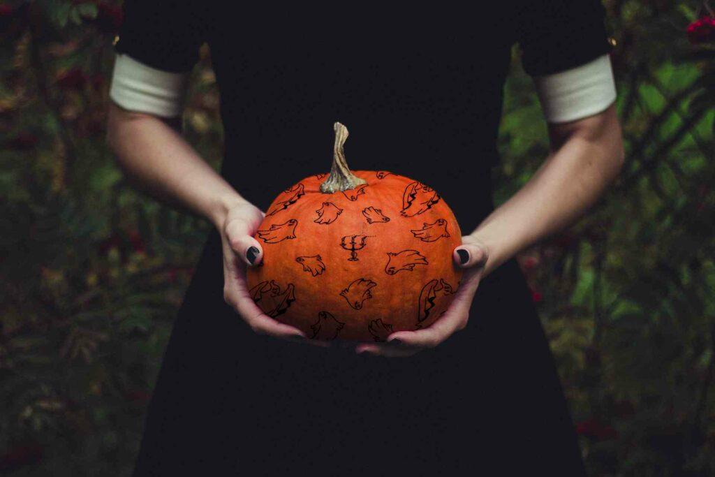 Halloween chez tissus lione