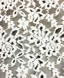 LYCRA LACE SERIES 1 WHITE AND BLACK