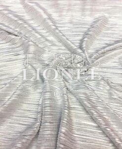 Blade Plisse White Silver