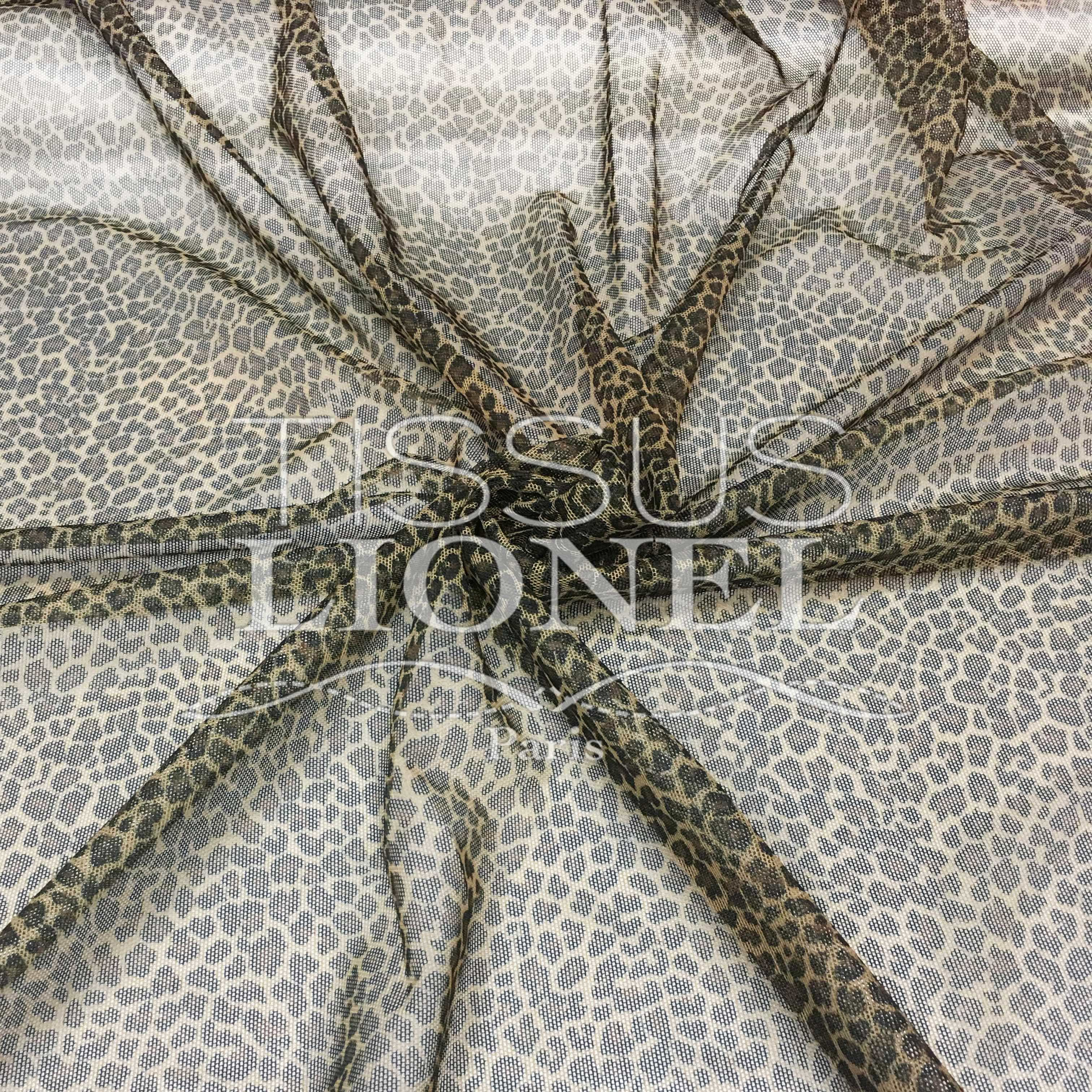 Lycra mesh printed