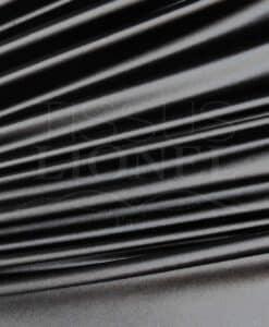Lycra satin épais noir