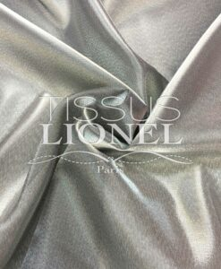 Organza Double Argent