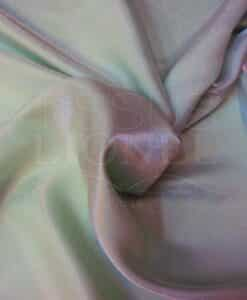 pale green changing satin