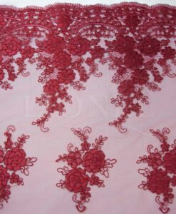 Tulle ricamato RED