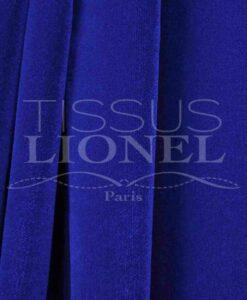 Velour-de-coton-uni-bleu-royal