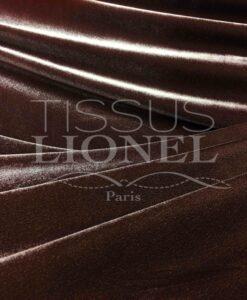 Бархатная гладкая коричневая