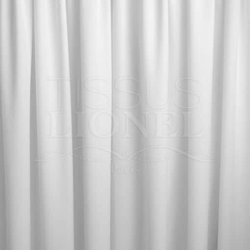 Tissu aérien blanc