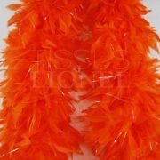 boa avec lurex orange