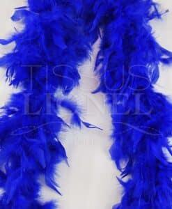 enkele royal blue boa