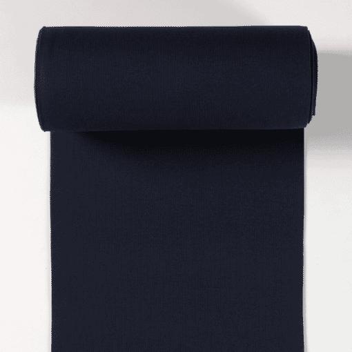 Bord côte jersey tubulaire marine