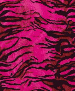 Fourrure velboas tigre fuchsia