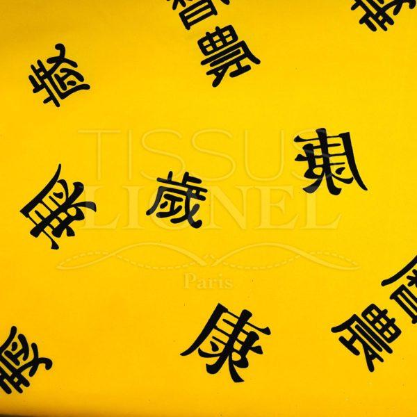 carnaval chine jaune