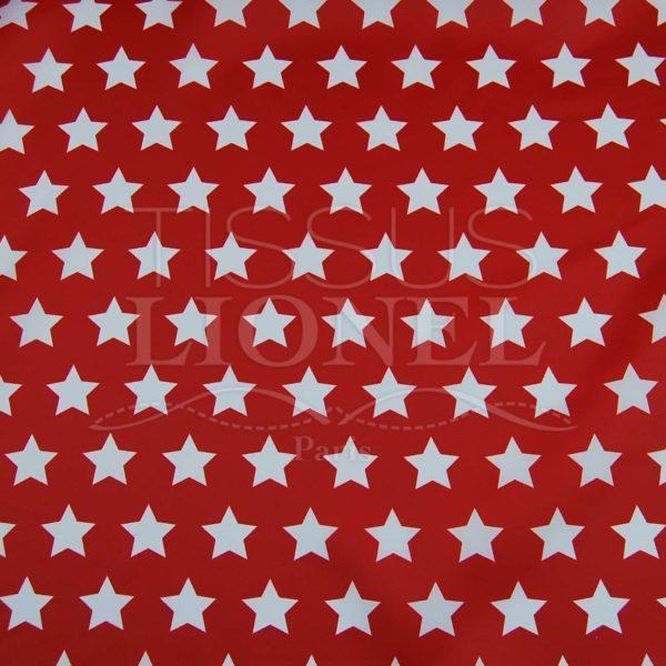 carnaval étoiles amérique sur fond rouge