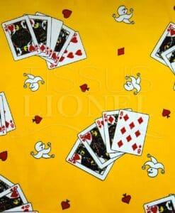 giochi di carte Carnevale sul giallo