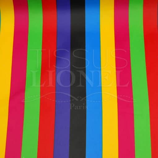 carnaval rayures colorées