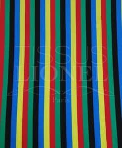 righe multicolor Carnevale