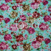 coton imprimé fleurs 002