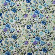 coton imprimé fleurs 005