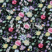 coton imprimé fleurs 007