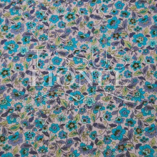 coton imprimé fleurs 010
