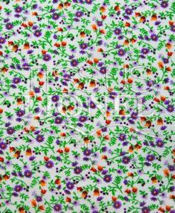 coton imprimé fleurs 015