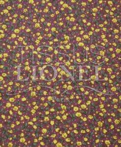coton imprimé fleurs 020