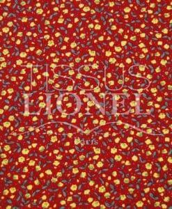 coton imprimé fleurs 021