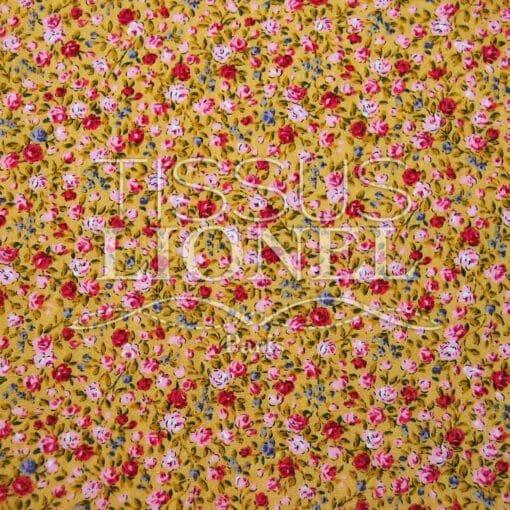 coton imprimé fleurs 027