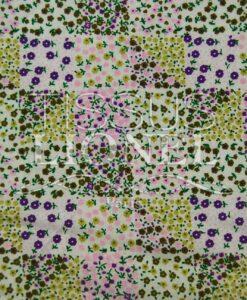 coton imprimé fleurs 029