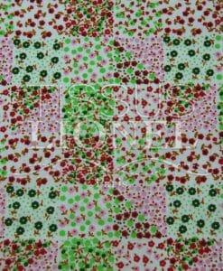 coton imprimé fleurs 030