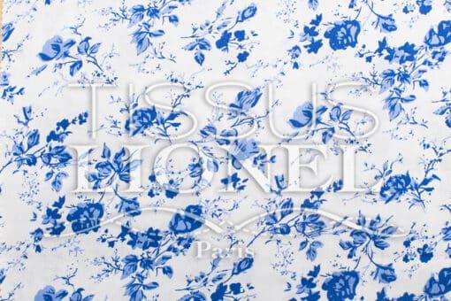 coton imprimé fleurs 032