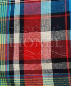 coton imprimé madras 009