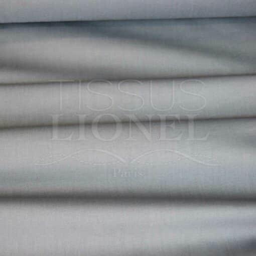 coton uni gris
