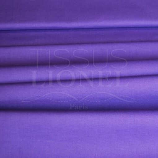 coton uni violet